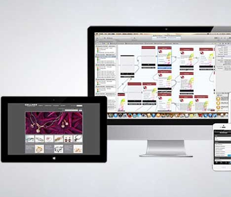 P&M App, e-Commerce und Shop Entwicklung