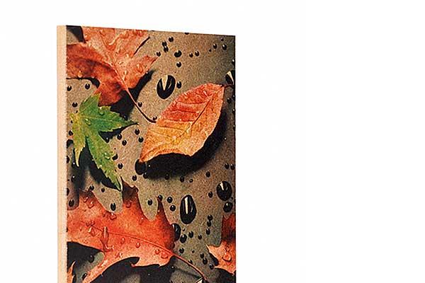 Eine tolle Optik verleiht Ihr Fotodruck auf MDF oder Holz im Naturlook