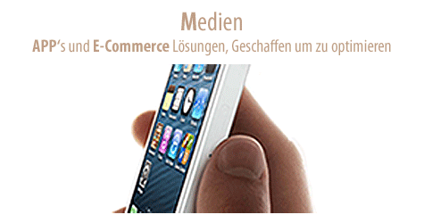 Entwicklung von Apps und E-Commerce Lösungen. Wir schaffen Durchblick auf allen Kanälen. Ob Print, Medien oder Events.