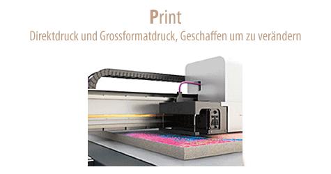 Industrielle Produktion von Direktdruck und Plattendruck Lösungen