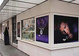 Ihr Spezialist für Schaufenster Beklebung - Schaufensterbeklebung - Folierung