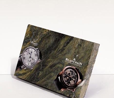 Plattendirektdruck - Plattendruck - Direktdruck auf Stein