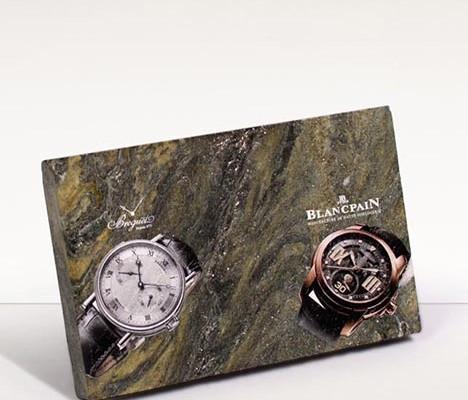 Plattendirektdruck - Plattendruck - Direktdruck auf Leder