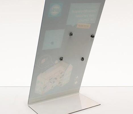 Druck auf Acrylglas, Druck hinter Acrylglas und geformt