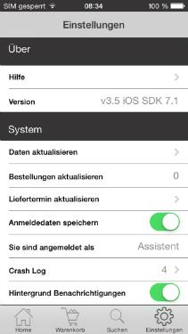 App für Schmuckhersteller