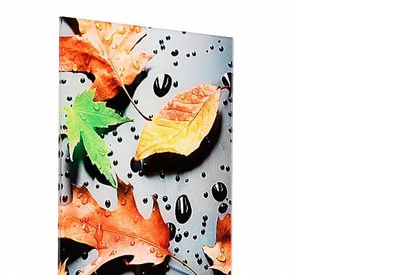 Fotodruck hinter Acrylglas im Direktdruck, Plattendruck Verfahren